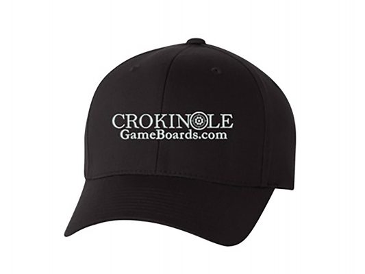 Crokinole Baseball Cap by Crokinole Game Boards