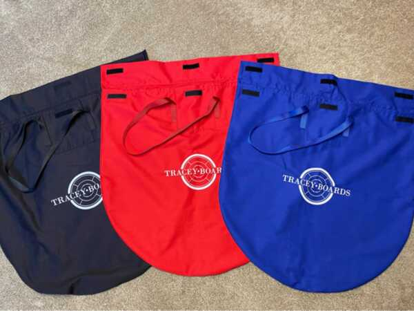 Crokinole Carrying Bags by Crokinole Game Boards