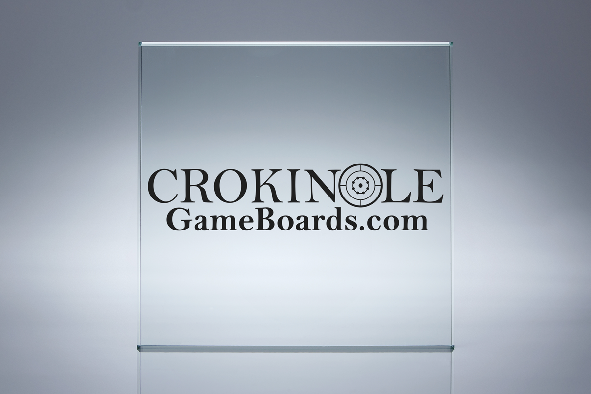 Crokinole Game Boards - Logo Display