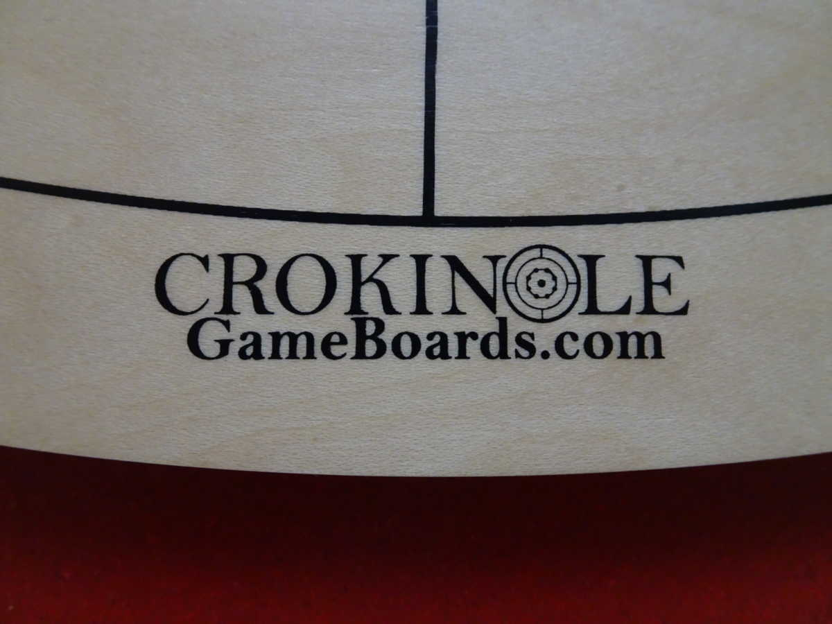 Crokinole Game Boards Logo