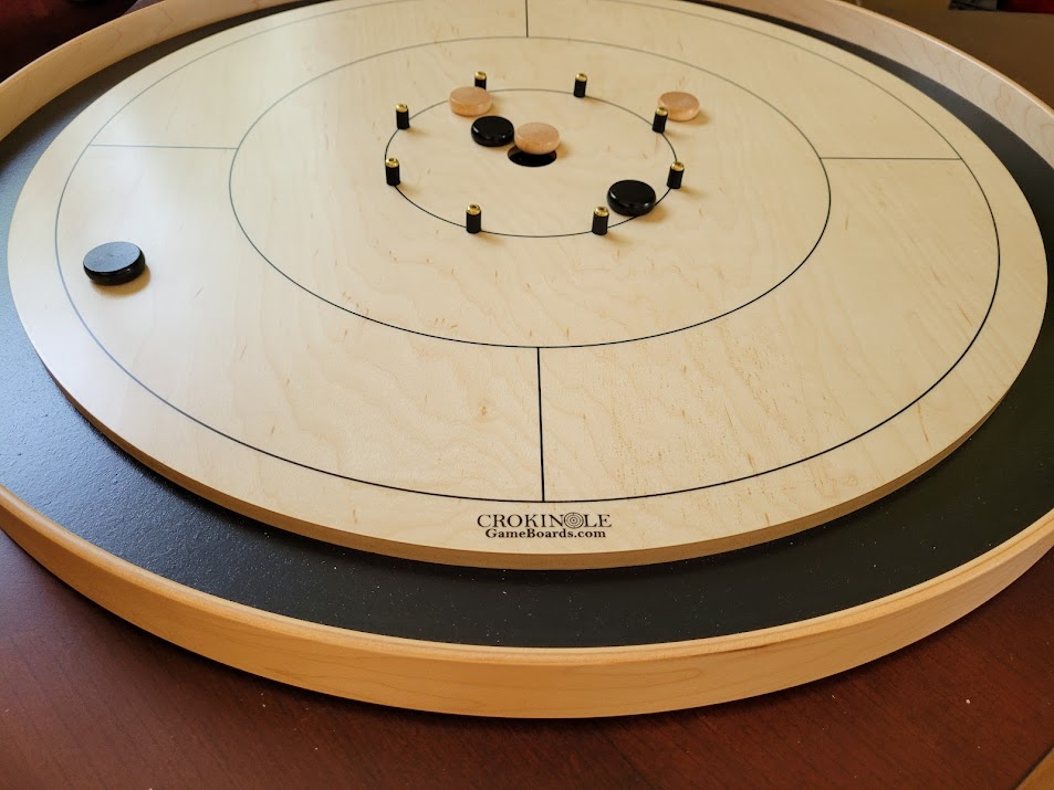 Crokinole Picture from Brian S for Crokinole Game Boards