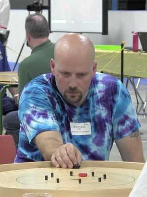 Jeremy Tracey of Crokinole Game Boards