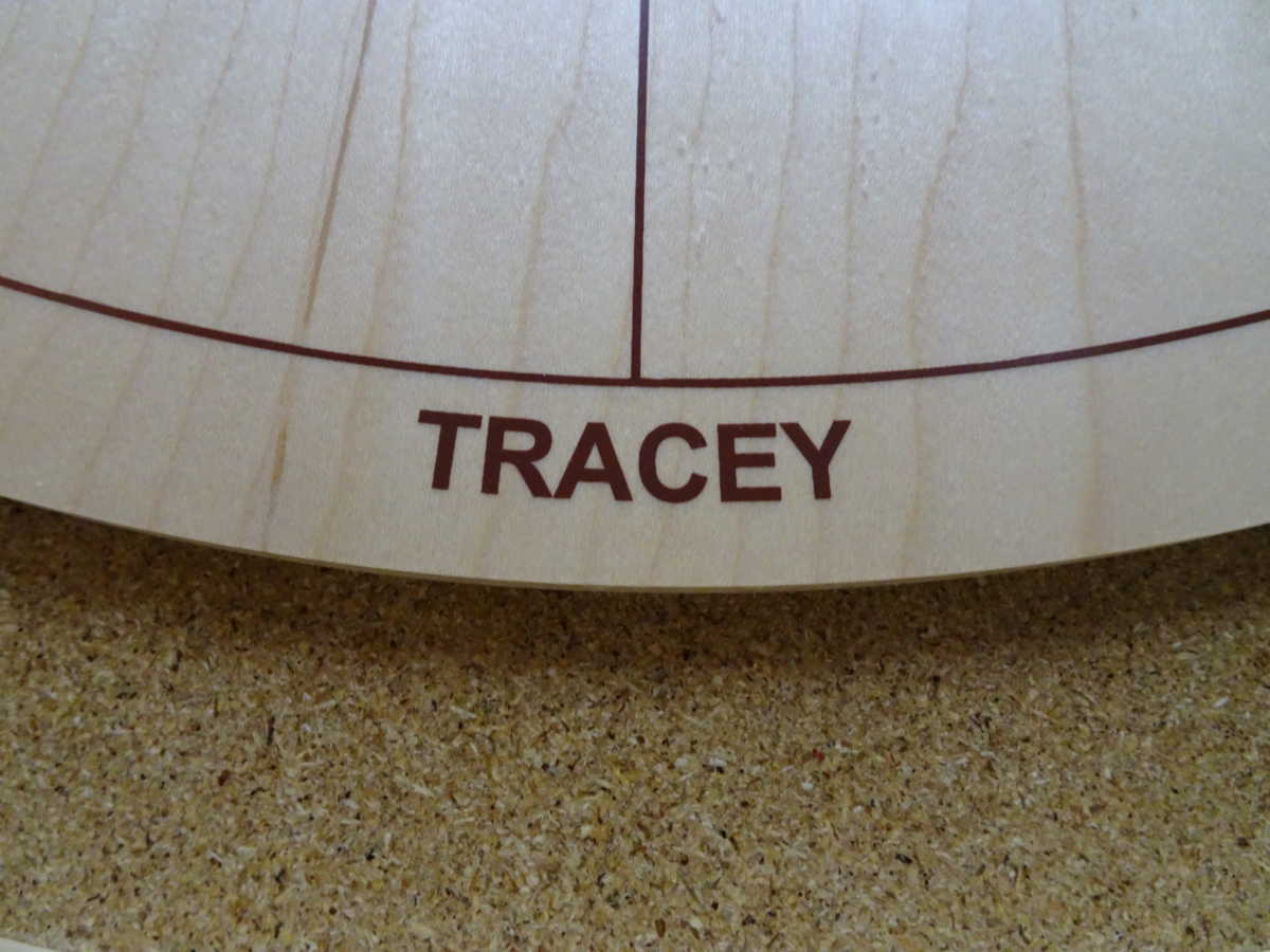 Large Tracey Board Logo