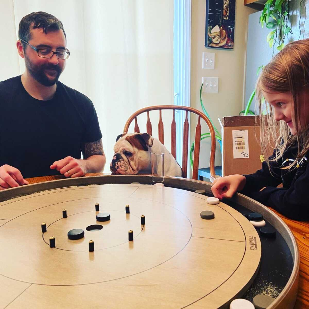 Testimonial Photo Submission from Tristan Ward for Crokinole Game Boards