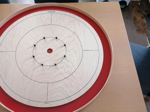 Testimonial Picture from Nathan Whitney for Crokinole Game Boards