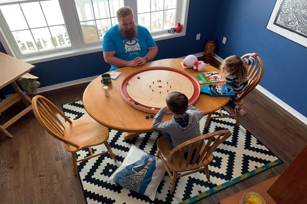 Testimonial from Will for Crokinole Game Boards