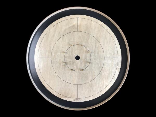 Tracey Tour Crokinole Board (Grey Rock Edition) by Crokinole Game Boards