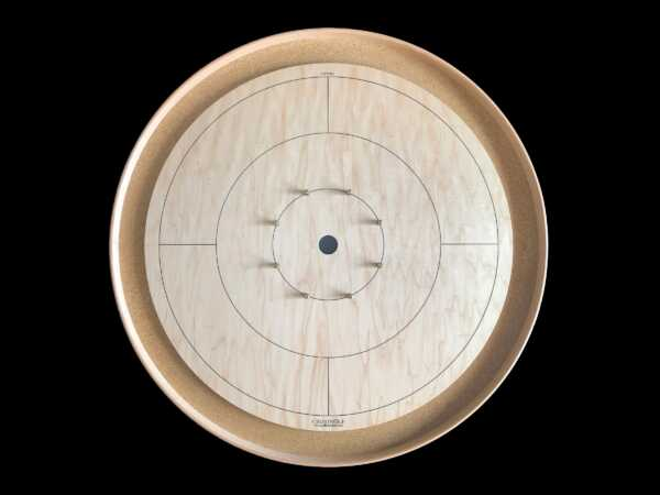 Tracey Tour Crokinole Board (Traditional Edition) by Crokinole Game Boards