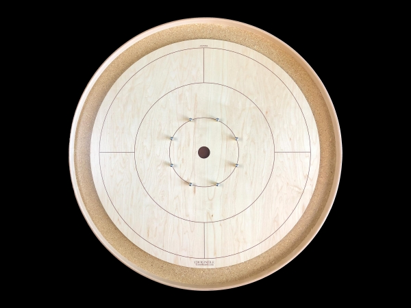 Tracey Traditional Crokinole Board (Standard Edition) by Crokinole Game Boards