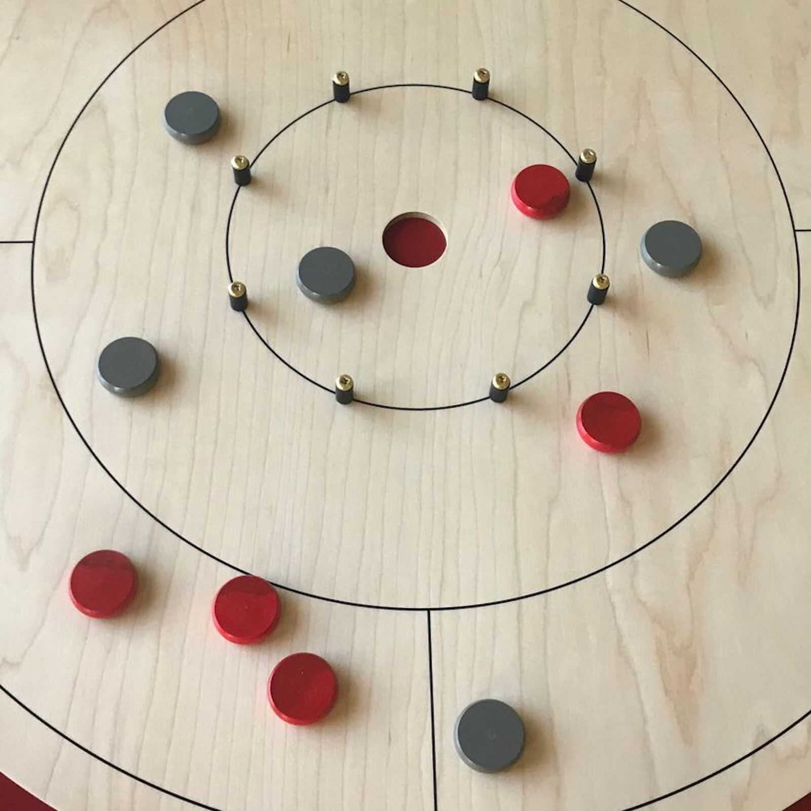 Review Picture of Crokinole Game Board